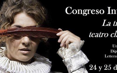 """Congreso internacional  """"La traducción del teatro clásico español"""" (Bolonia, 24-25 de octubre de 2019)"""